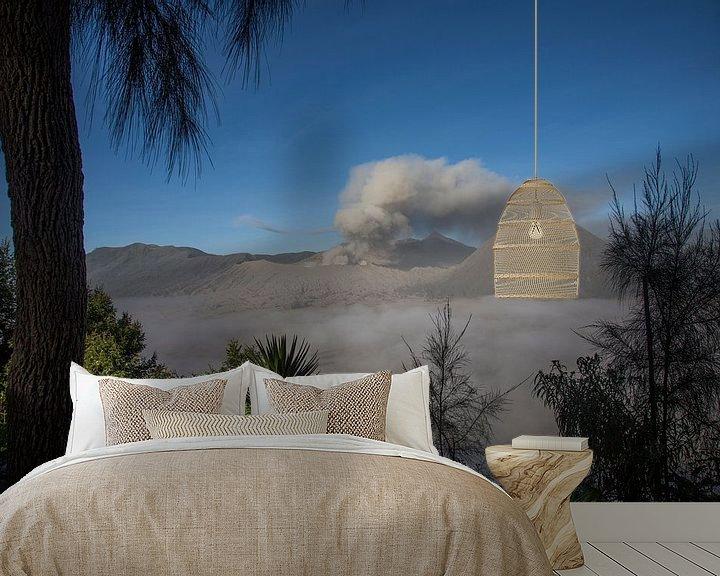 Beispiel fototapete: Bromo (vulkaan) indonesie von Jan Pel