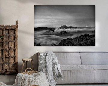Bromo (vulkaan) indonesie von Jan Pel