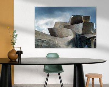 Guggenheim museum Bilboa 4 von Ronald Tilleman
