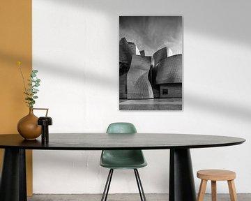 Guggenheim museum Bilboa 5 van Ronald Tilleman