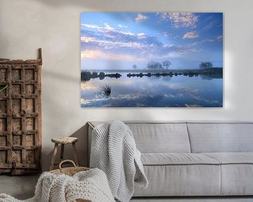 Onlanden wolkenpracht van Sander van der Werf