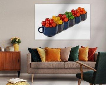 Cocktail tomatoes van Leopold Brix