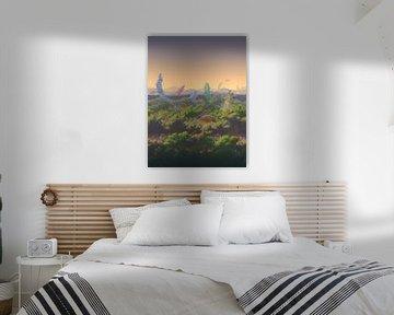Fantasie bos Terraria (PIXEL ART)