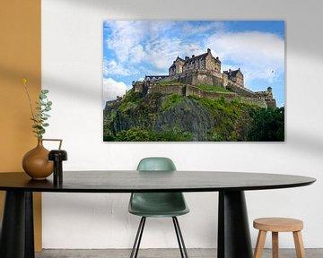 Edinburgh Castle, Schottland von Arjan Schalken