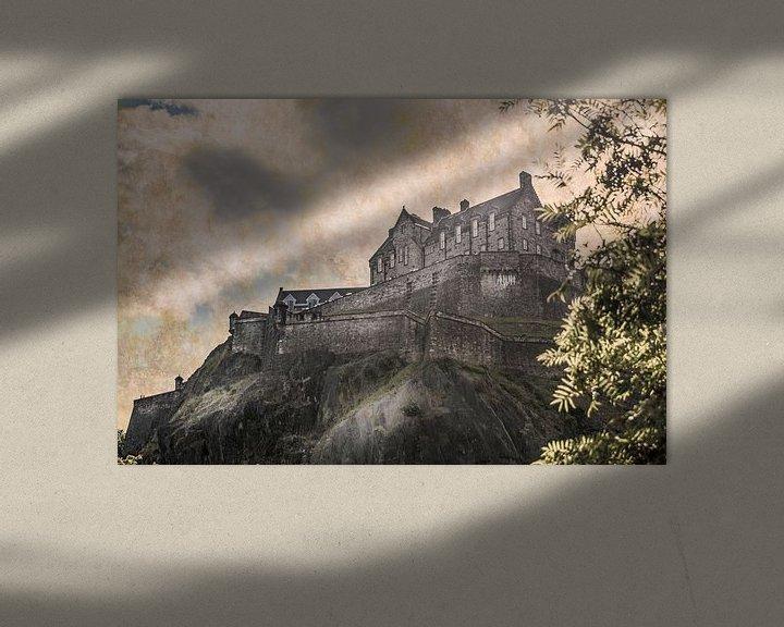 Beispiel: Edinburgh Castle von Freddy Hoevers