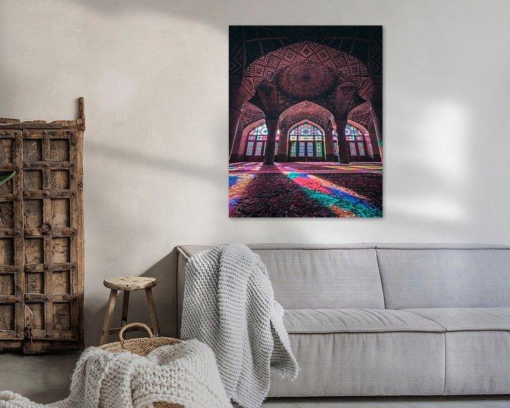 Sfeerimpressie: Nasir Al Mulk Mosque van Niels Tichelaar