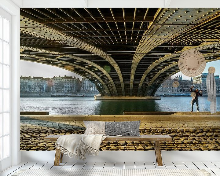 Impression: Selfie under the bridge sur Steven Groothuismink