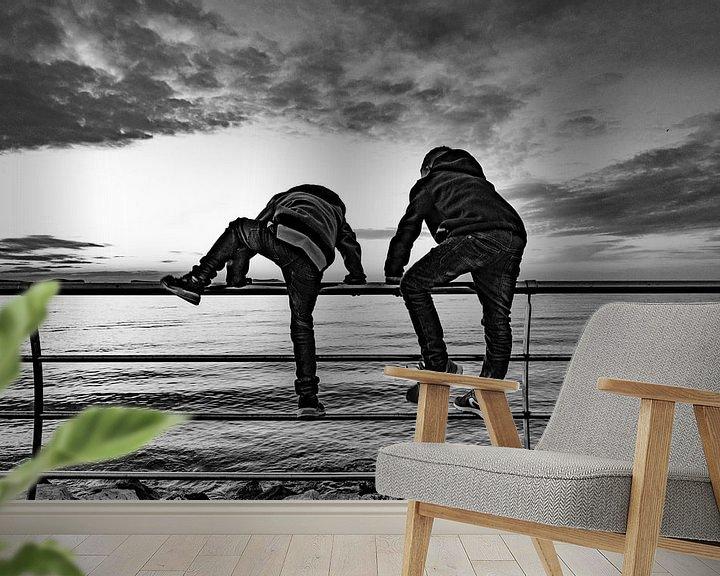 Beispiel fototapete: Breaking free von Steven Groothuismink