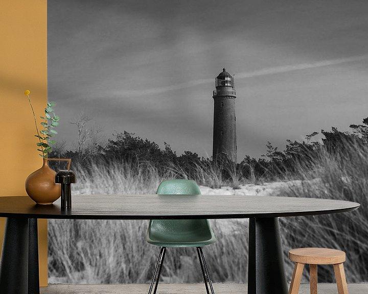 Beispiel fototapete: Leuchtturm Darßer Ort von Jörg Hausmann