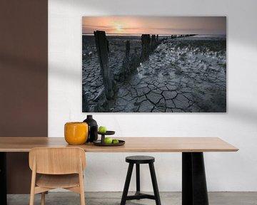 Zonsopkomst over de Waddenzee van AGAMI Photo Agency