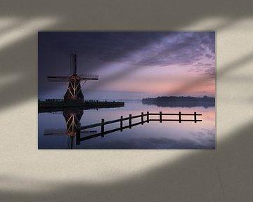 Tranquil windmill van Sander van der Werf