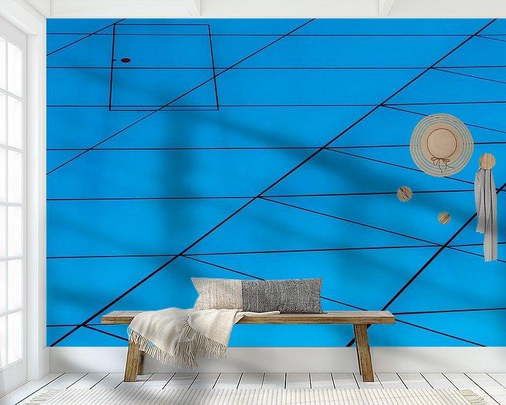 Sfeerimpressie behang: Porte de Confluences van Steven Groothuismink