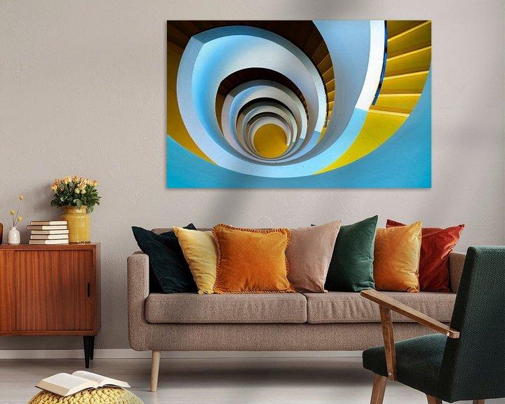 Sfeerimpressie: De eindeloze spiraal van Steven Groothuismink