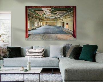 "Ballsaal ""Roter Vorhang"" von Michael Schwan"
