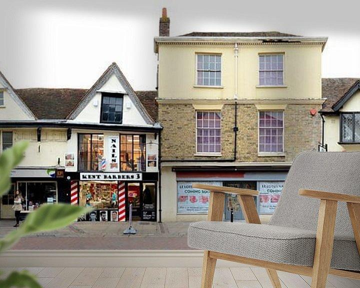 Beispiel fototapete: Canterbury   Kent Barbers von Panorama Streetline