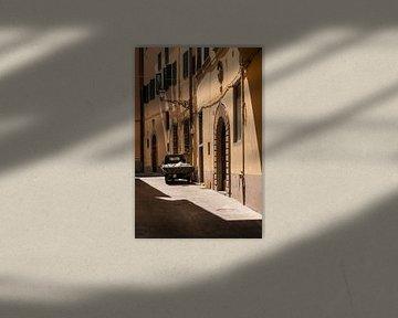 Piaggio Singe dans la rue de Toscane sur Erik van 't Hof