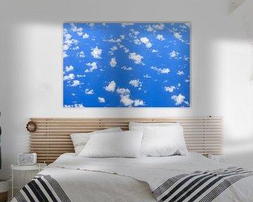 Wolken boven de oceaan von Dennis van de Water