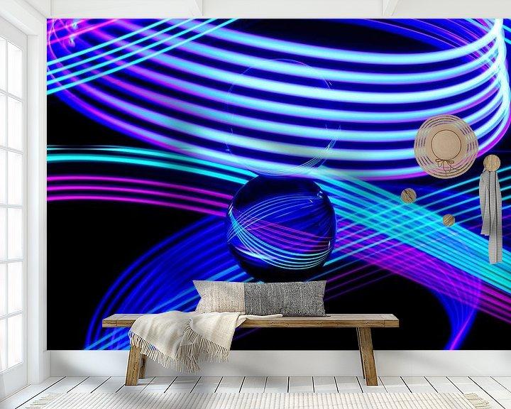 Sfeerimpressie behang: Schilderen met Licht 3 van Erik Veltink