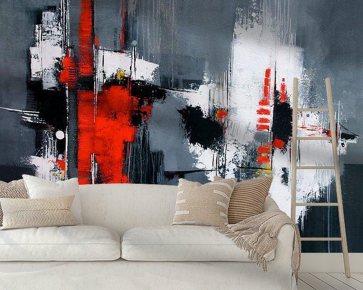 Beispiel fototapete: Abstrakt in Grau von Claudia Neubauer