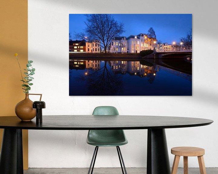Sfeerimpressie: Maliesingel in Utrecht bij Herenbrug van Donker Utrecht