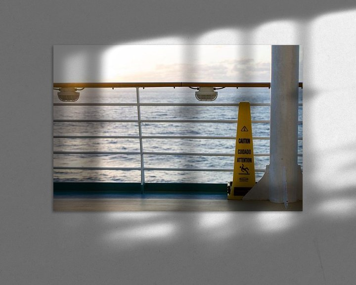 Impression: Cruiseschip op zee sur Gertjan koster