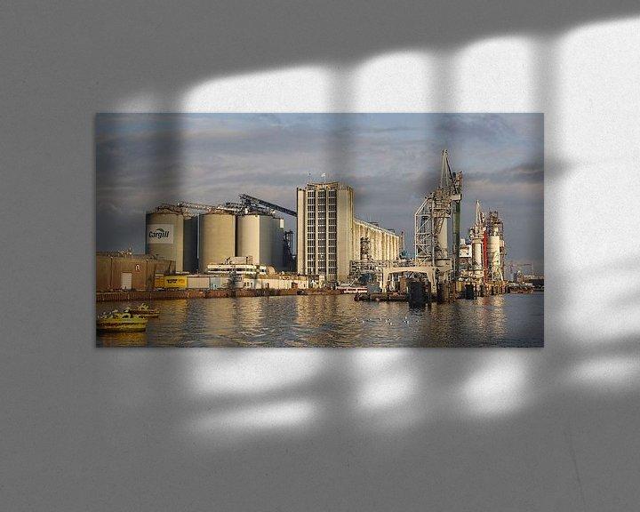 Beispiel: Amsterdam  Harbour Vlothaven Cargill silos von Ed Vroom