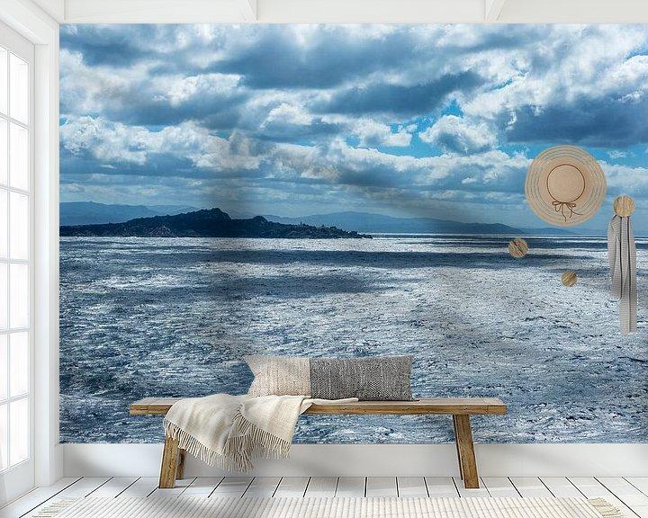 Beispiel fototapete: Mooie wolken dek nabij Napels von Gertjan koster
