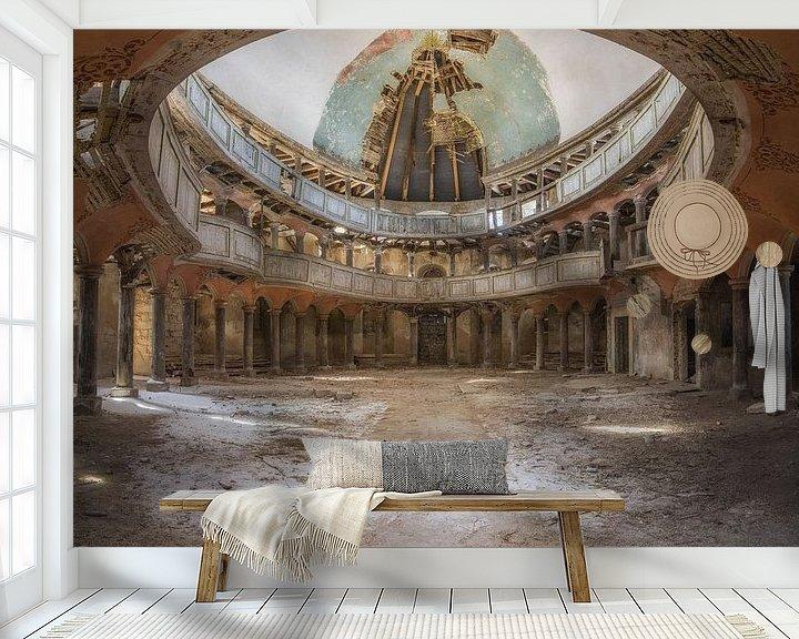 Beispiel fototapete: Old Chapel von Wim van de Water