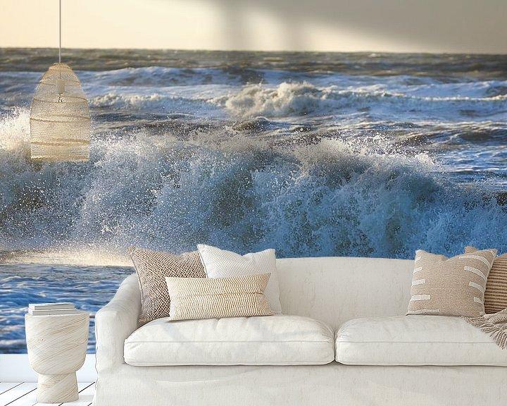 Sfeerimpressie behang: De zee van Sjoerd van der Hucht
