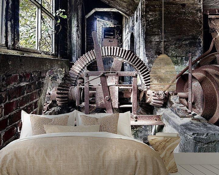 Beispiel fototapete: Stoomrad von Rens Bok