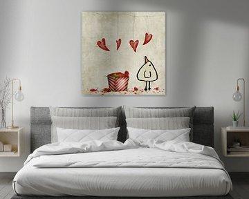 Valentijn - piep van Marion Tenbergen