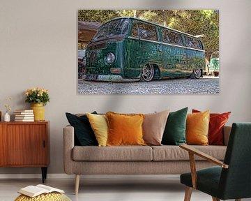 VW bus extreem niedrich von Ed Vroom