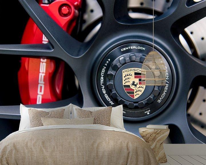 Beispiel fototapete: Porsche 911 von Sytse Dijkstra