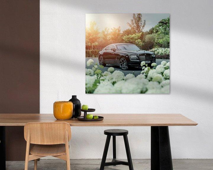 Sfeerimpressie: Rolls Royce Wraith van Sytse Dijkstra