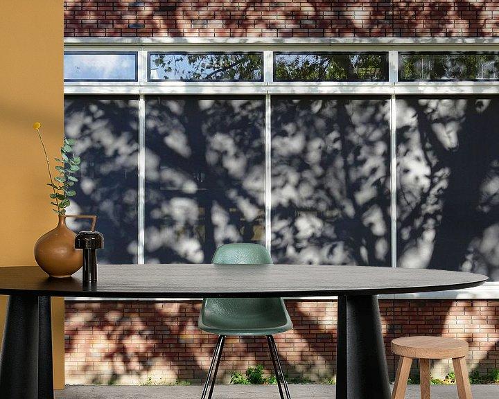 Sfeerimpressie behang: Urban Reflections 117 van MoArt (Maurice Heuts)