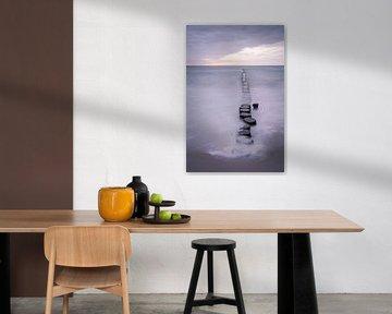 Golfbreker en Oostzee van Tobias Luxberg