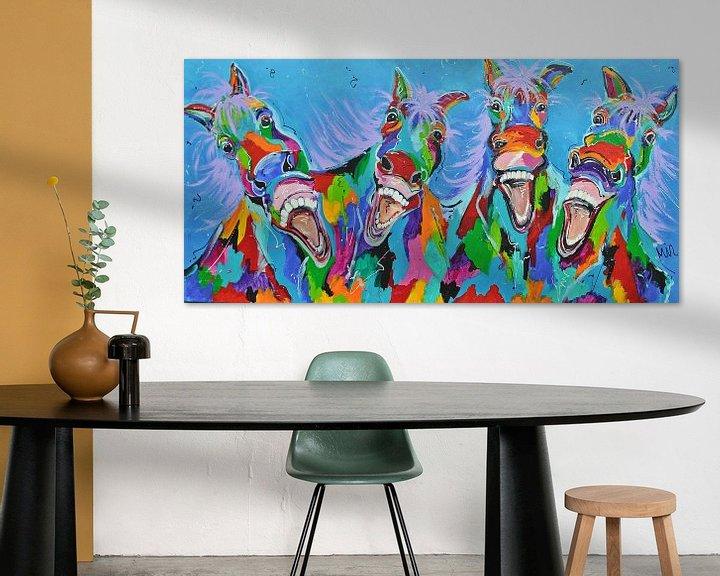 Beispiel: -Pferde mit Humor von Kunstenares Mir Mirthe Kolkman van der Klip
