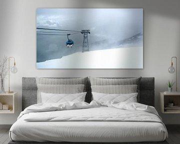 Sneeuw op Titlis van Vincent van Kooten
