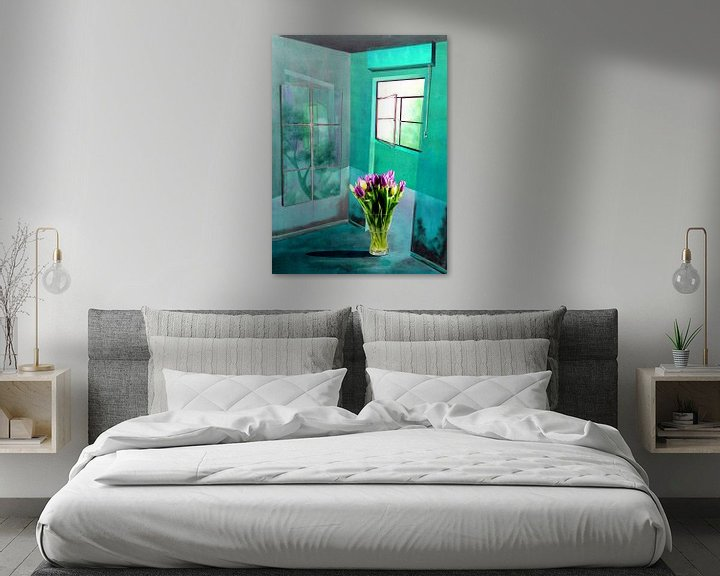 Sfeerimpressie: Bloemen in de kamer van Gertrud Scheffler