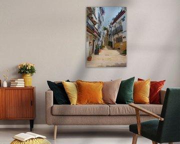 Calle San Rafael in Alicante von Peter Apers