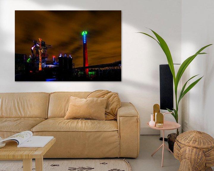 Sfeerimpressie: Ruhrgebied Duitsland - Industrie fotografie -1  van Damien Franscoise