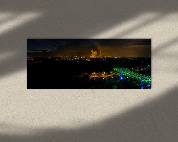 Sfeerimpressie: Ruhrgebied Duitsland - Industrie fotografie -4 van Damien Franscoise
