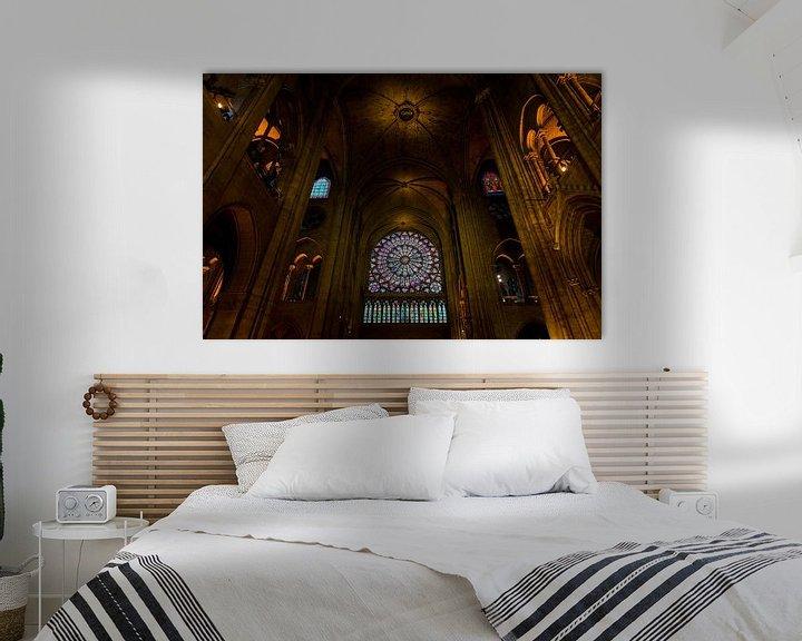 Sfeerimpressie: Notre-Dame Parijs - 2 van Damien Franscoise