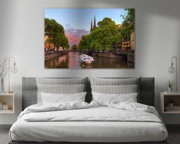 Rondvaartboot Krijtberg Amsterdam von Dennis van de Water