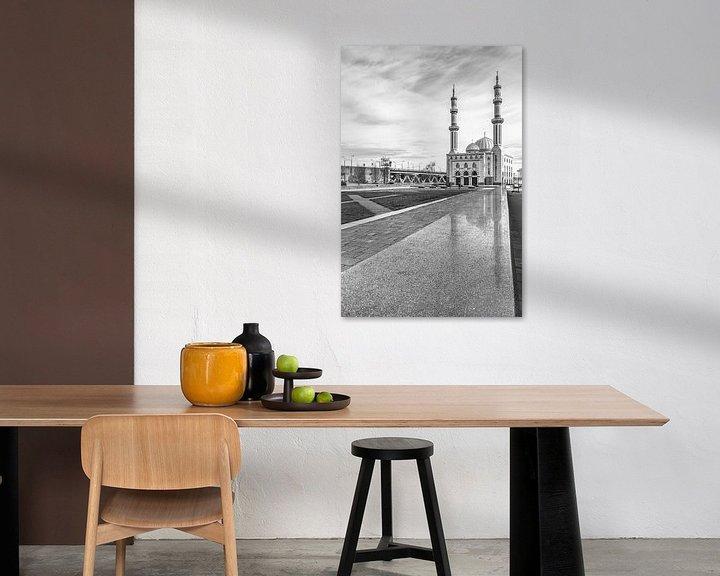 Sfeerimpressie: Essalam moskee Rotterdam van Ilya Korzelius