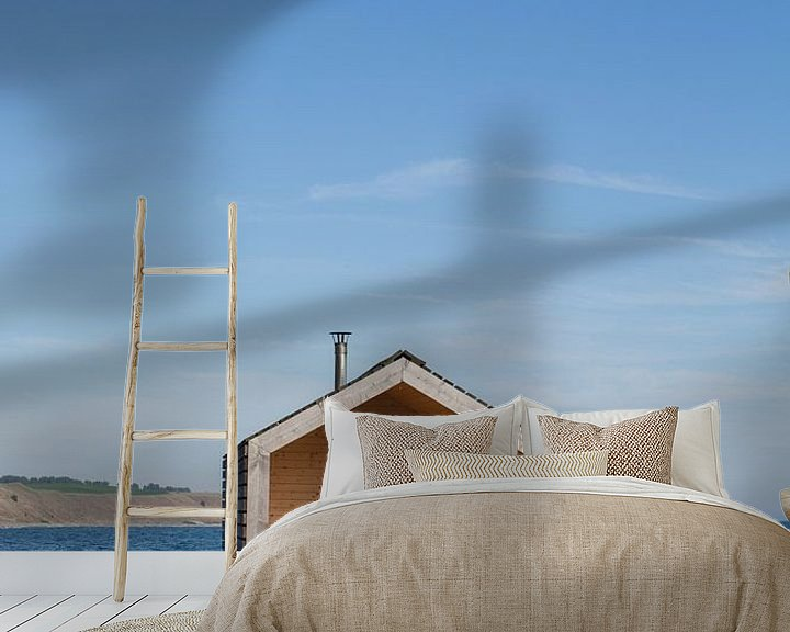 Sfeerimpressie behang: SAUNA ON WHEELS  van STUDIO MELCHIOR