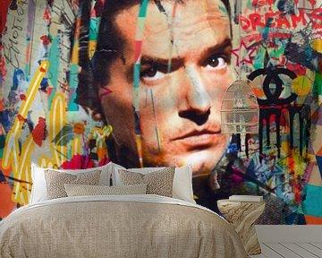 Falco - Emotional - Plakative Collage von Felix von Altersheim