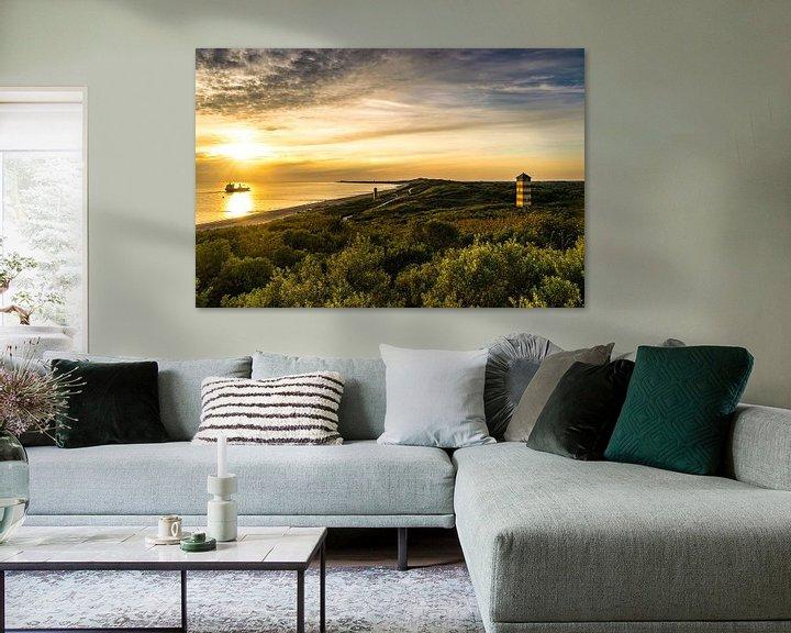 Beispiel: Dishoek Sunset von Thom Brouwer