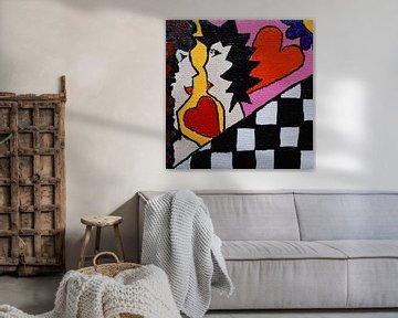 Liefde Mini-canvas