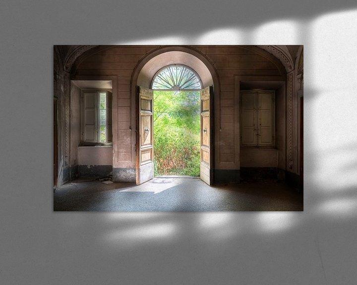 Beispiel: Türen einer verlassenen Villa. von Roman Robroek